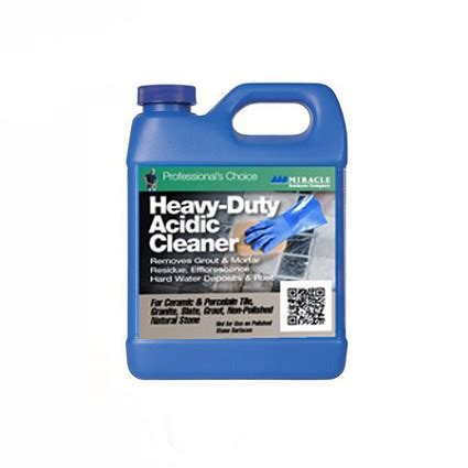 miracle sealants heavy duty acidic cleaner 1 quart