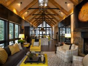 mountain home interiors rustic mountain style lake tahoe home idesignarch interior design architecture