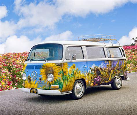 volkswagen hippie van front hippie car stock photos kimballstock