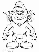 Smurfs Coloring Pages Smurf Hackus Colouring Drawing Naughty Gargamel Sheet Sheets Characters Printable Character Awesome Appears Sketch Disney Popular sketch template