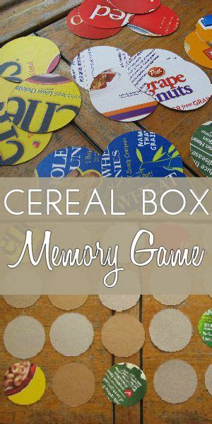 cereal box cut out crafts matching for preschoolers 836 | ccad987421a1419cdf08141fb8140f8c