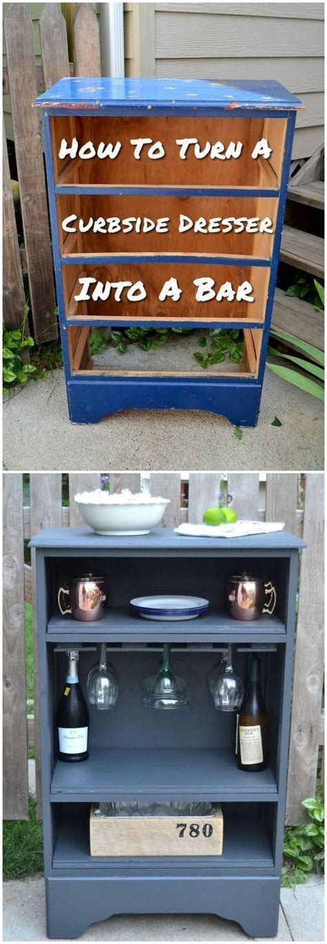 how to turn an dresser into a kitchen island how to turn curbside dresser into a bar jpg glavportal 9973