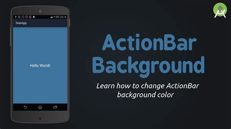 android background color android studio change actionbar background color