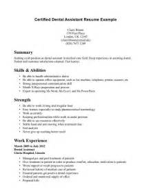 Cna Resume Exles With No Experience by Cover Letter Certified Nursing Assistant Resume Exles
