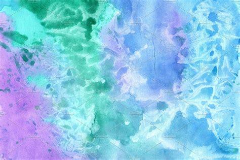 Five watercolors background Custom Designed Textures