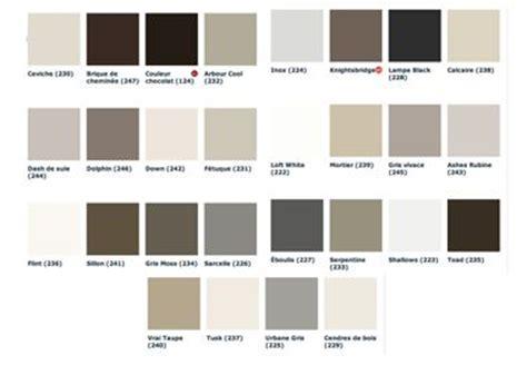 palette de couleur peinture pour chambre peinture grise 28 nuances de gris pour les murs taupe