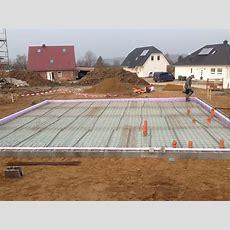 Fundament Sohle  Bauen Mit Teammassivhaus