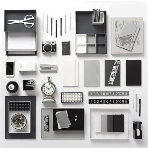 office and desk supplies new poppin dark gray desk accessories cool and modern
