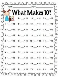 addition facts to 5 addition facts practice 0 through 10 and what makes 10 skola matte och utbildning