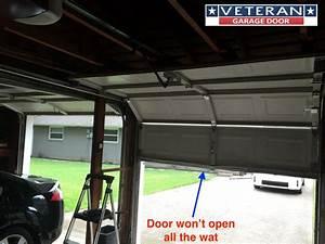 Manual Garage Door Won T Close All The Way