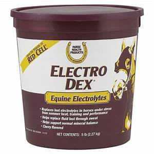 Horse Health U2122 Electro Dex U00ae Electrolyte Supplement In