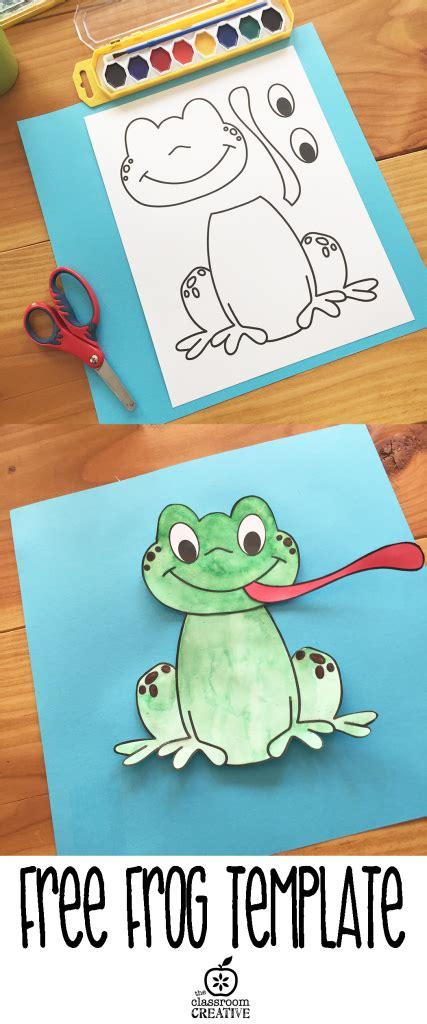 free printable frog template crafts ideas and 489 | 7e29a58c7f3b47a94338d2ea1916542f