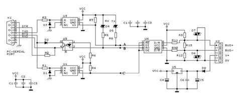 rs232 to rs485 wiring diagram wiring diagram and schematic diagram