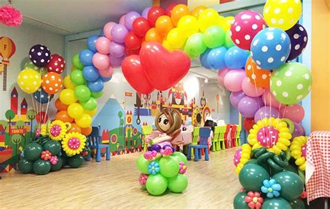 rainbow balloon decorating tips for birthday party