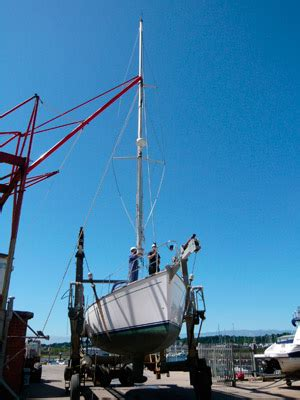 Boat Storage North Wales by Boat Rigging In North Wales