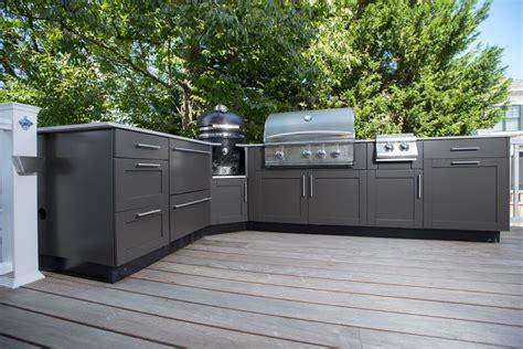 outdoor kitchen base cabinets l shaped outdoor kitchen design inspiration danver