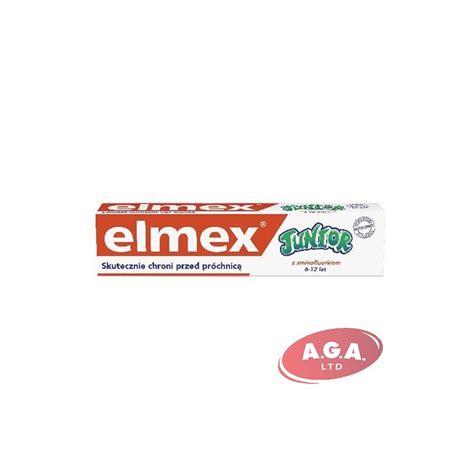 Elmex zobu pasta Junior 75ml - SIA A.G.A LTD