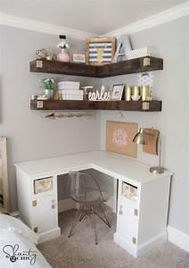 17 cute affordable diy teen bedroom ideas With cute teen desks