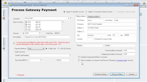 quickbooks syncpay demo youtube