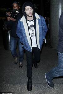 Get The Look Zayn Malik In Denim Shearling Jacket u2013 PAUSE ...