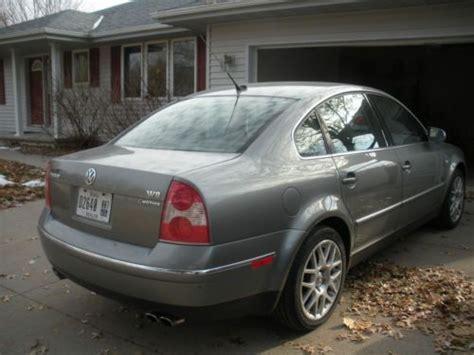 Purchase Used 2004 Vw Passat Sedan Awd W8 In Winterset