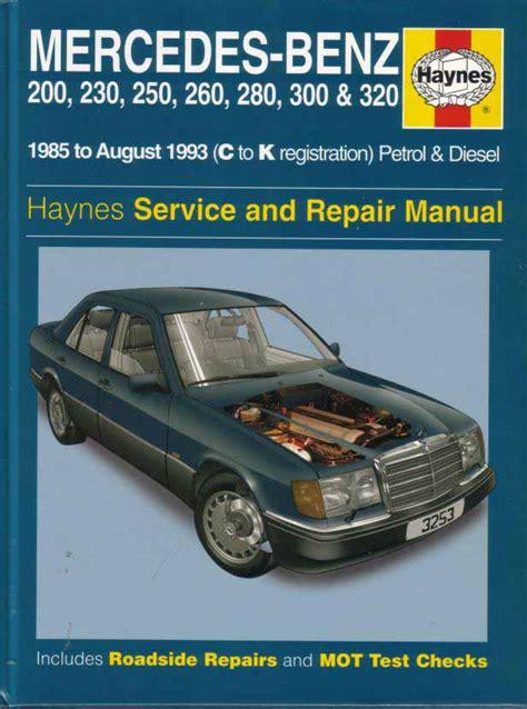 book repair manual 1999 mercedes benz c class interior lighting mercedes 124 shop manual service repair book haynes 300e 300te 260e 300d w124 mb ebay