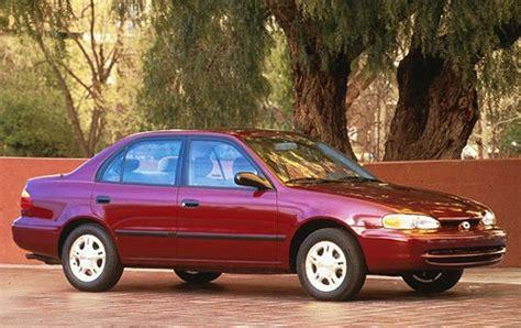 free car manuals to download 1997 geo prizm regenerative braking chevrolet prizm 1997 2002 sedan outstanding cars
