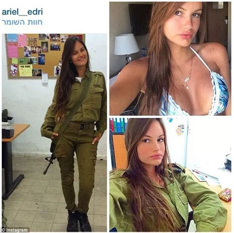 Israeli female soldiers are not afraid to reveal their ...