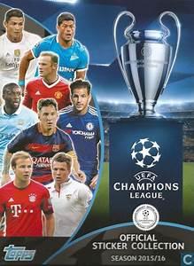 Topps Official Sticker Collection season 2015/16 - UEFA ...