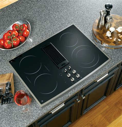 ge profile series  downdraft electric cooktop ppsnss ge appliances
