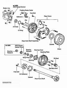 rear axle shaft bearing toyota sequoia 2001 repair With 2004 toyota tacoma front wheel bearing diagram