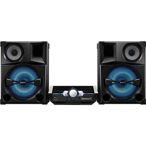 best shelf stereo system sony shake5 shelf top audio system with bluetooth 2400