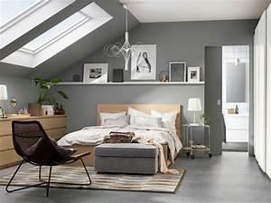 Agencer Une Chambre : 35 chambres sous les combles elle d coration ~ Zukunftsfamilie.com Idées de Décoration