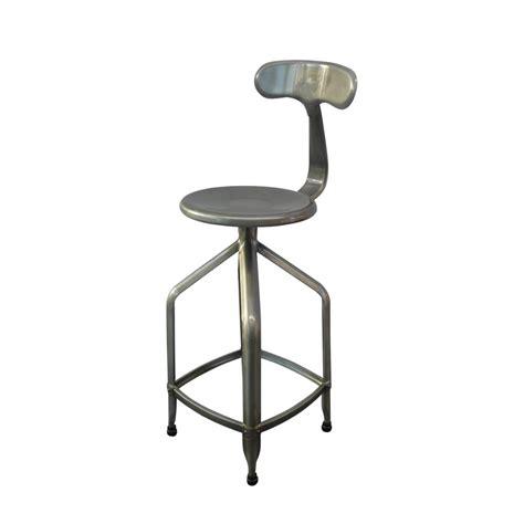 table haute pour cuisine avec tabouret tabouret de bar industriel à hauteur réglable marx par drawer