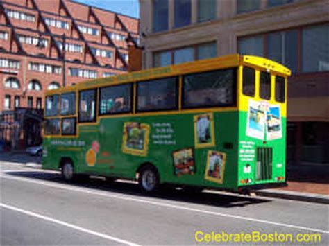boston deck trolley tours map boston deck trolley tours
