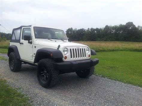 tan jeep wrangler 2 door buy used 2008 jeep wrangler x sport utility 2 door 3 8l in