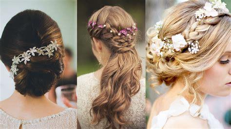 coiffure de mariage  idees de coiffure pour la mariee