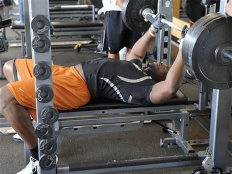 nfl combine bench press nfl combine secret 1 boost your bench press play