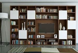 Bibliothèque Moderne Design : 40 meubles t l de design original et pratique ~ Teatrodelosmanantiales.com Idées de Décoration