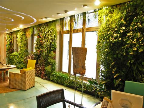 Indoor Garden by Wall Garden Design 4 Techniques To Create A Wall Garden