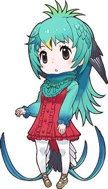 resplendent quetzal japari library  kemono friends wiki