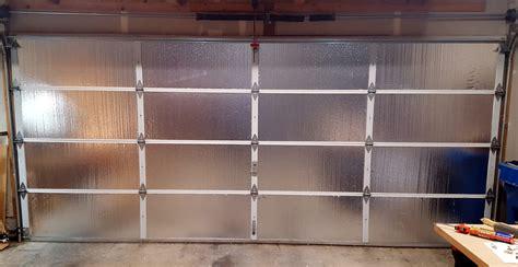 garage door insulation 8 ways to upgrade your garage the weekend