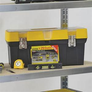 Caisse A Outils Complete Bricorama : boite outils stanley 29 pi ces coffret et bo te ~ Edinachiropracticcenter.com Idées de Décoration