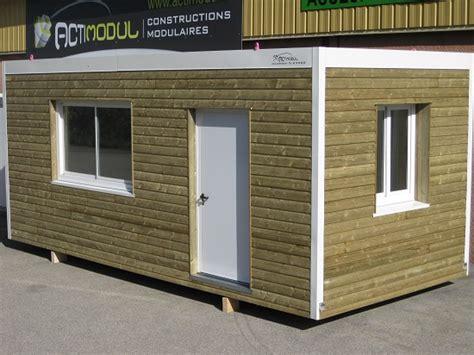 bungalow modulaire bois