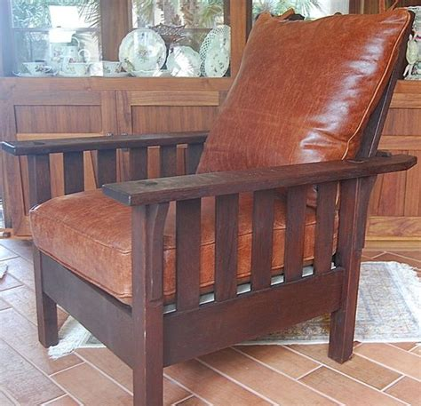 stickley morris chair ebay roycroft chairs and arts and crafts on