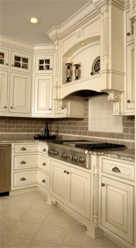pin  leann gray  kitchen remodel antique white
