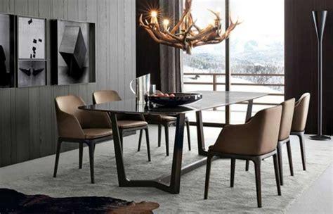 Haus Möbel Esszimmerstühle Esszimmerst C3 Bchle Braun Kunstleder Gestaltungsidee #39098 Haus
