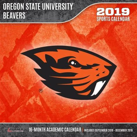 oregon state beavers calendars