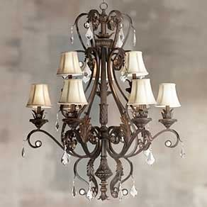 Chandeliers   Elegant Chandelier Designs for Home   Lamps Plus