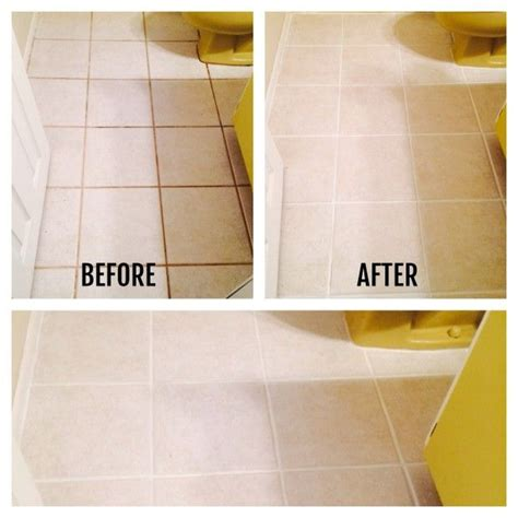 How To Clean Floor Grout In Bathroom by How I Transformed My Bathroom Floors For 12